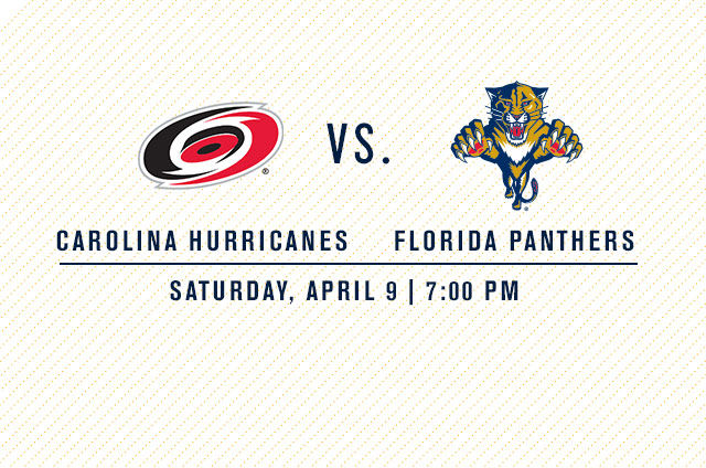 Carolina Hurricanes vs. Florida Panthers