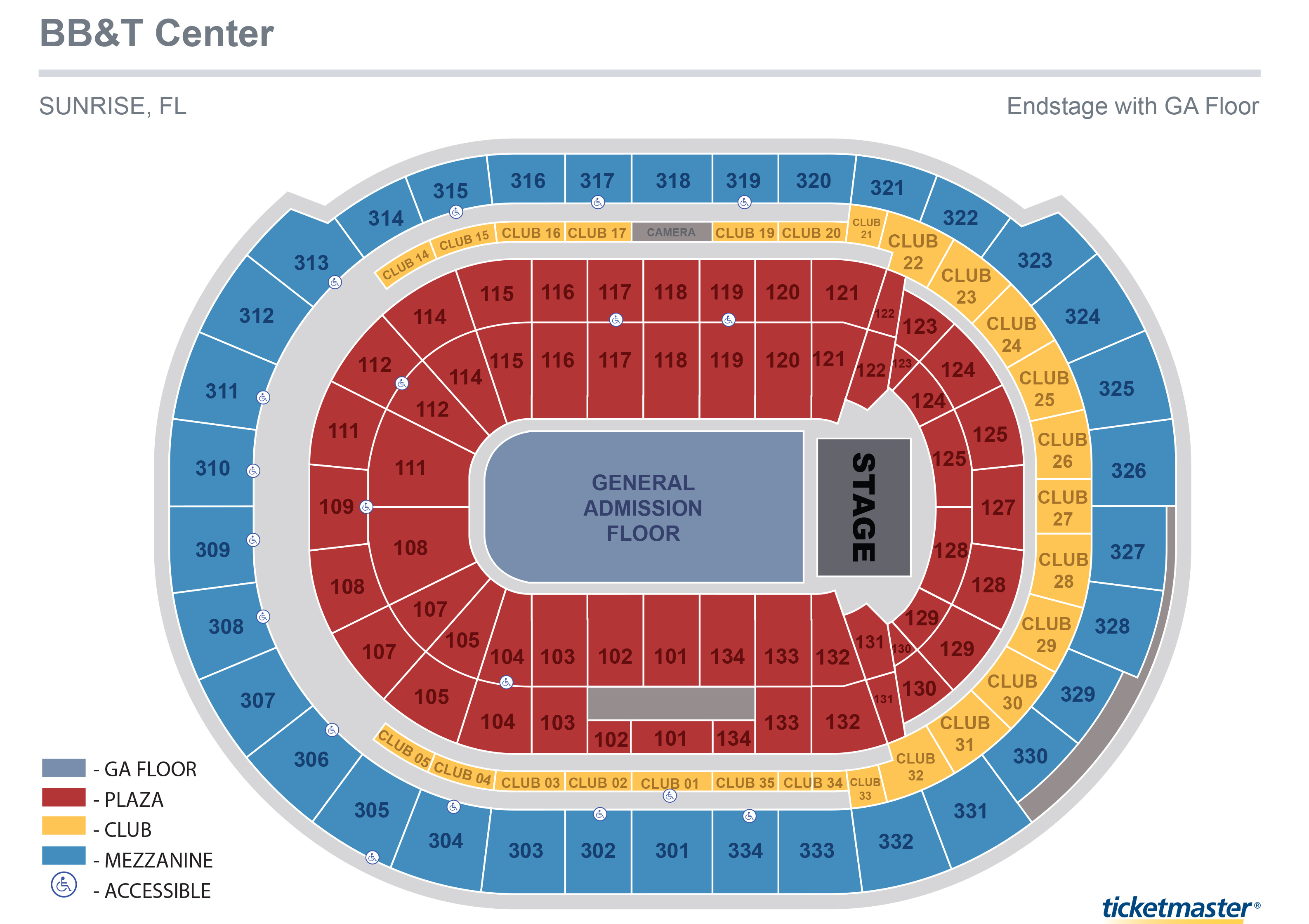 US Airways Center Center Stage Seating Chart US Airways Center - Us airways arena map