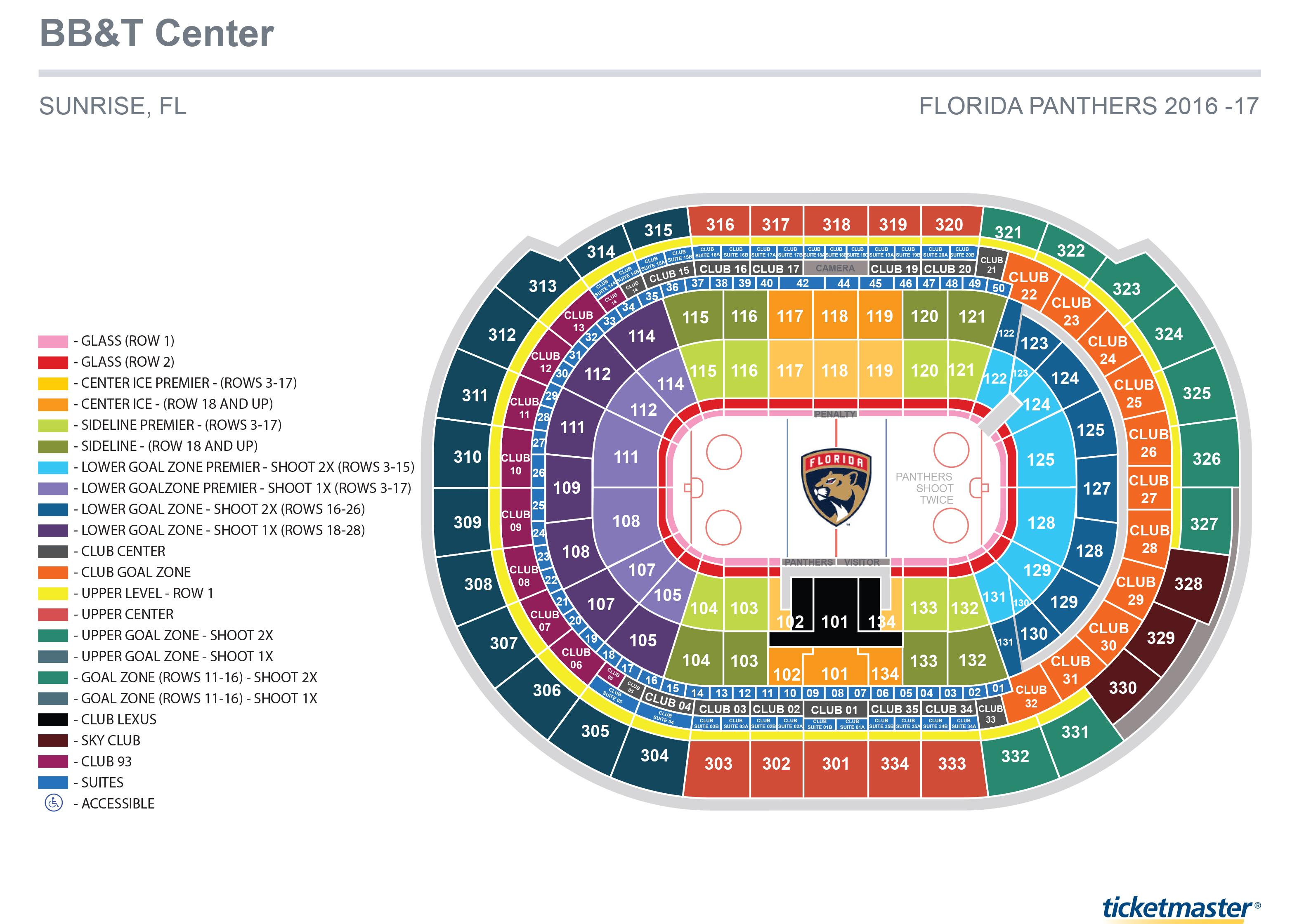 bb&t center seating | Brokeasshome.com